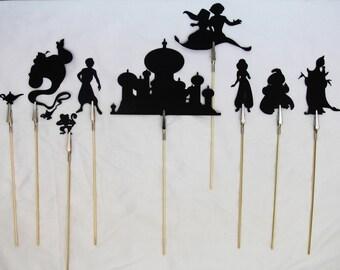 Aladdin Shadow Puppets