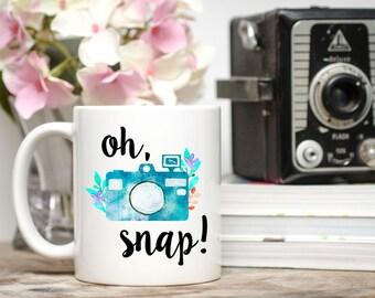 oh snap mug photography gift photographer gift photography