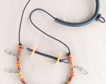 Fly Fishing Lanyard with Tippet Holder