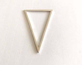 Miyuki Pendant Triangle Blanks Silver