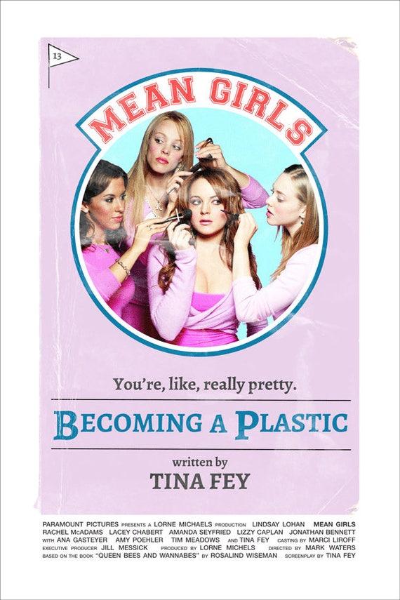 Mean Girls Mark Waters 2014 alternative movie poster