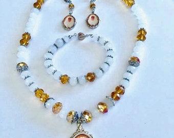 Frida Kahlo Jewelry Set, Frida Kahlo,Frida.