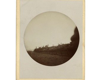 Early 1890s Kodak Photo / Industrial Factory or Processing Plant