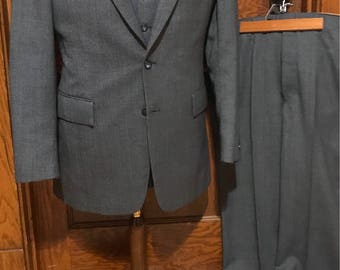 Mint condition! Blue Three piece suit