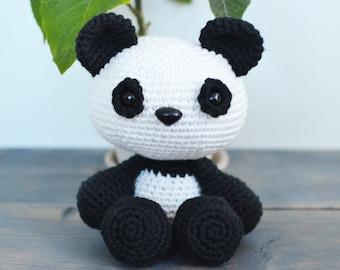 Panda Crochet Pattern. Panda Crochet Pattern. Panda Amigurumi Crochet. Panda Amigurumi Pattern. Panda Downloadable PDF Crochet Pattern