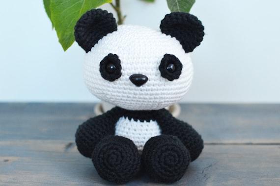Amigurumi Panda Bear Crochet Pattern : Panda crochet pattern panda crochet pattern panda amigurumi