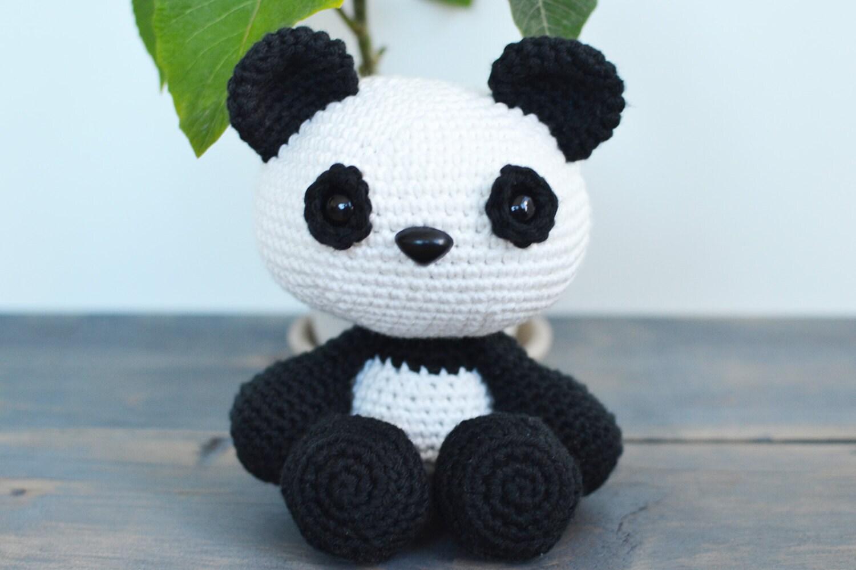 Panda Crochet Pattern. Panda Crochet Pattern. Panda Amigurumi