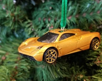 Pagani Huayra Mothers Day, Fathers Day, Birthday Ornament 1:64 Free  Shipping Happy