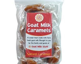 Sea Salt Goat Milk Caramel - 10 Pieces