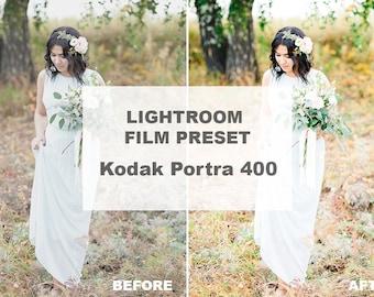 Lightroom Preset Kodak Portra 400, Film Presets For Lightroom, Wedding Presets