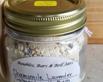 Chamomile Lavender Oatmeal Milk Bath 564