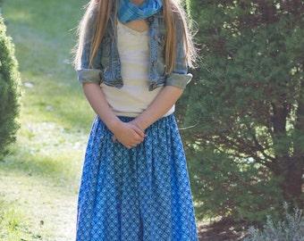 Gloria's Tween Maxi Skirt, Sun Dress, and Top PDF Pattern size 7/8 to 15/16 girls