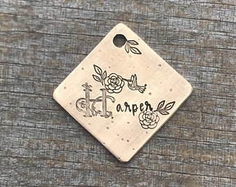Dog Tags for Dogs, Dog Tag, Personalized Dog Tag, Pet Id Tag, Custom Dog Tag, Pet Supplies, Hand Stamped Dog Tag, Garden Gate