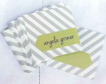 Personalized Calling Cards / Gift Tags / Angela