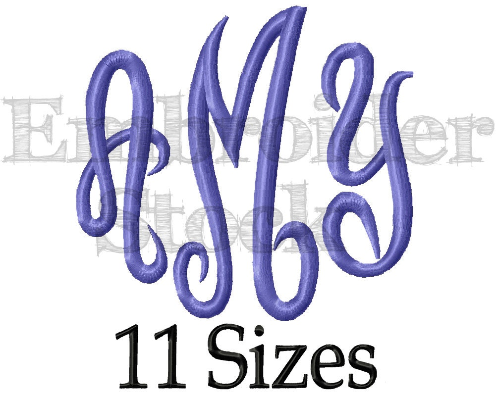 Embroidery Fonts Free Download 43975 Usbdata