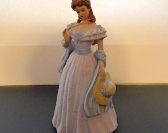 "Vintage Home Interiors 1998 Masterpiece Porcelain Collectible Figurine ""Sarah Jane"" #11015-98"