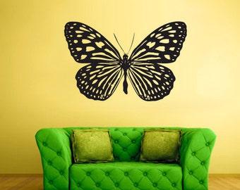 butterfly wall decals butterfly wall art butterfly wall decals black butterfly wall decals girls room butterfly wall decor (Z297)