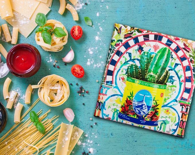 Impression Pop Art sur Toile - Cactus en Conserve