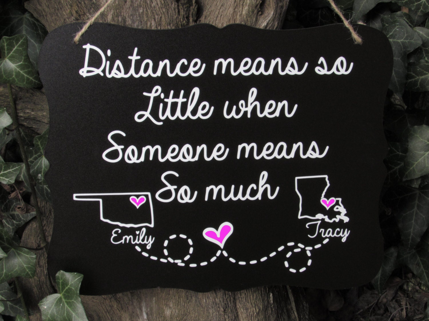 Quotes About Long Distance Friendship Best Friend Best Friend Gift Long Distance Relationship