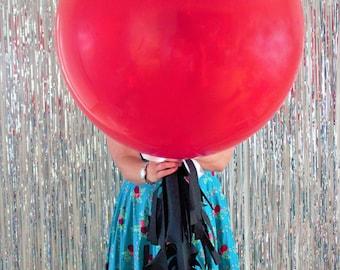 Jumbo Red Balloon Party Decoration