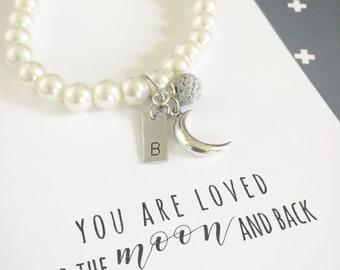 Pearl Moon Bracelet