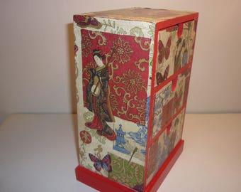 """""""A little bit of Asia"""" Dresser box"""