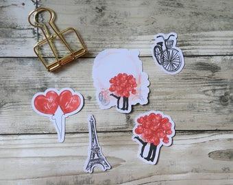 In Love / Valentine Planners, Penpal and Journalling Die Cuts