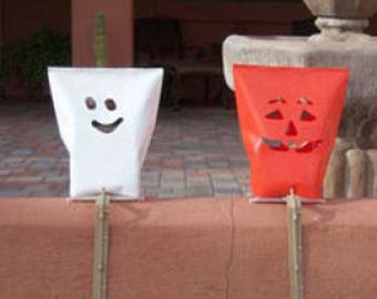 Halloween Electric Luminary Replacement Sleeves By Rc Lightstyle - Outdoor Luminaria