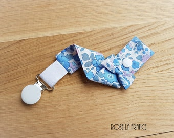 Liberty Betsy baby blue pacifier