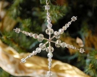 Snowflake ornament- suncatcher