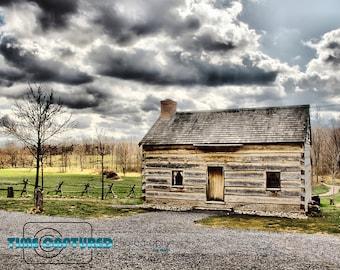 Old Log House (Spring)