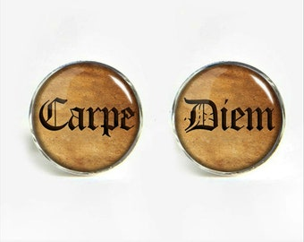 Carpe Diem - Seize the Day Cufflinks