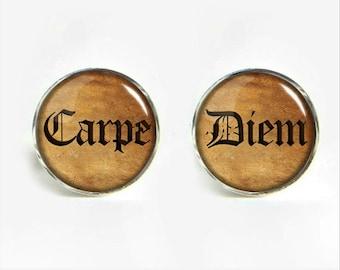 Carpe Diem - Seize the Day Cufflinks