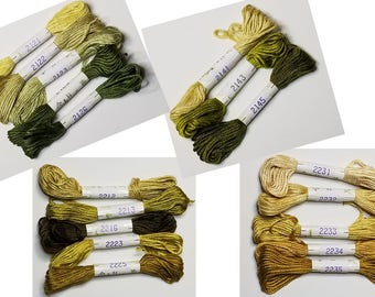 30% off PURE silk! / Page 3 (2111 to 2946) AU Ver A Soie / Soie D' ALGER / Thread for Cross Stitch, Embroidery, Counted Thread, Needlepoint