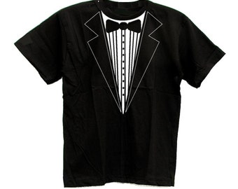 Tuxedo Tux Smoking Suit Cool Funny T-shirt