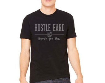 Hustle Hard - Serious Lip Balm T-Shirt FREE U.S. SHIPPING