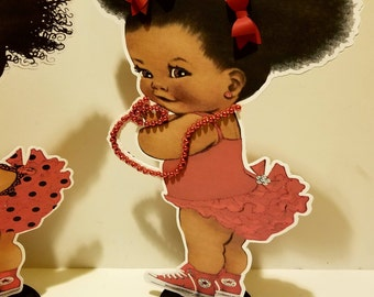 Baby Girl Centerpiece