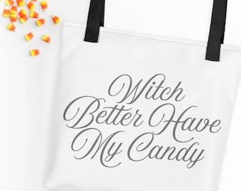 Hexe besser haben mein Candy Einkaufstasche