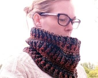 Woodlands Cowl - Crochet Pattern