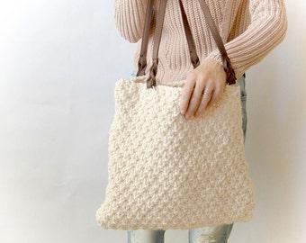 Aspen Bag Chunky Knitting Pattern