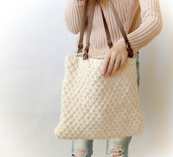 Aspen Bag Chunky Knitting Pattern
