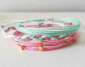 pink bracelet bundle