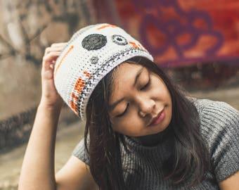 BB-8 Crochet Beanie