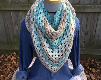 Vintage Inspired Triangle Scarf