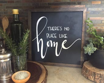 Rustic home sign, home sign, rustic sign, fixer upper, rustic farmhouse, fall decor, welcome sign, family sign, home decor, fall sign
