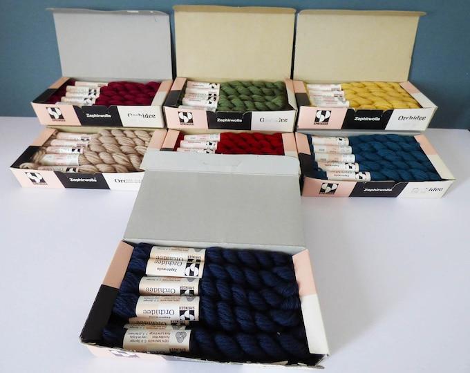 Tapastry wool vintage 63 Skeins Vintage Boxed