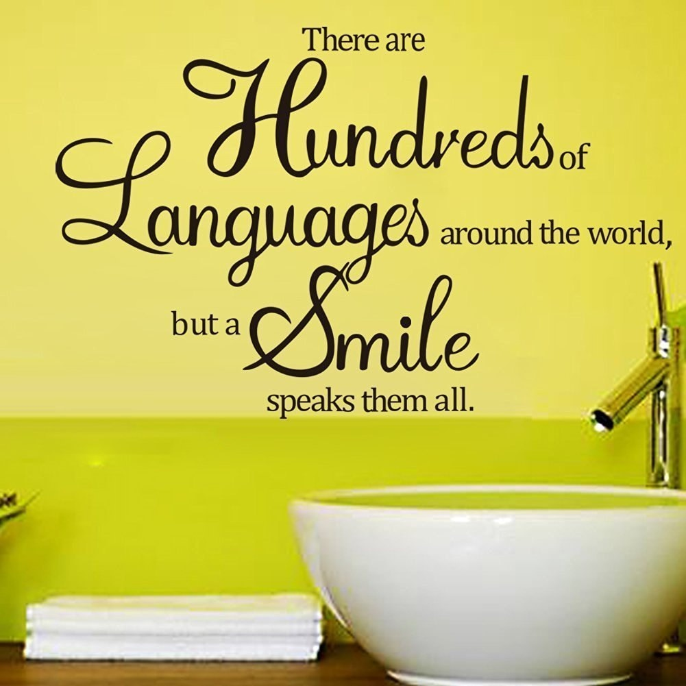 There Are Hundreds of Languages Around The World But A Smile