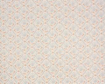 1960s Vintage Wallpaper - Floral Vintage Wallpaper Blue and Brown Floral