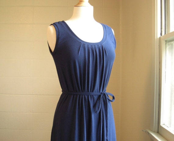Womens Long Maxi Dress, sleeveless tank Dress, cotton jersey maxi dress floor length gown party dress sleeveless sundress - Made to order