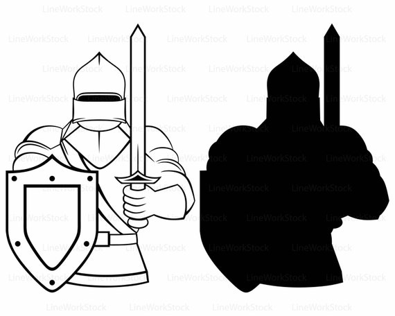 medieval knight svg knight clipart knight svg knight silhouette rh etsystudio com night clip art knight clip art black and white